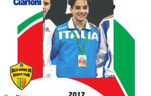 Karate: il brindisino Mattia Ciarloni è campione d'Europa