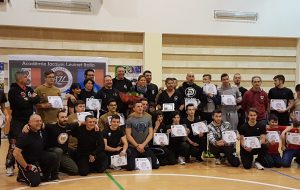 Stage internazionale di Self Pro Krav con il Capitaine Jacques Levinet.