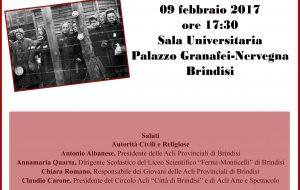 """Le Acli celebrano la Giornata della Memoria: a Palazzo Nervegna """"C'era una donna nel lager"""""""