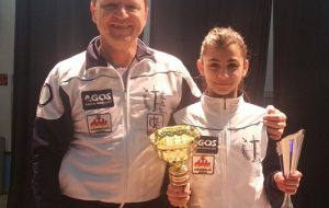 Fioretto femminile: Lara D'Agnano campionessa regionale della categoria Giovanissime