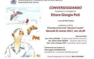 Converseggiando, poesie ed immagini con Ettore Giorgio Potì