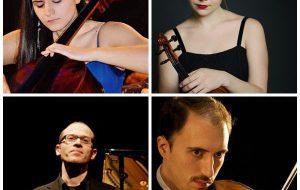 Accademia dei Cameristi: martedì 28 al Teatro Sociale il quartetto Kowalczyk-Palmizio-Cardaropoli-Torquati