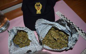 Ostuni: sequestrati 110 grammi di marijuana e pusher in manette