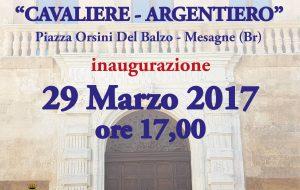 """Mercoledì a Mesagne si inaugura il Museo di Arte Sacra """"Cavaliere-Argentiero"""""""