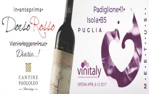 Al Vinitaly 2017 PaoloLeo organizza due degustazioni verticali dell'Orfeo e del Passo del Cardinale