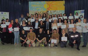Stage di difesa donna all'Istituto Montessori di Francavilla Fontana