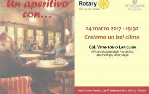 Domani all'Hotel Ostuni Palace un aperitivo con il Col. Laricchia