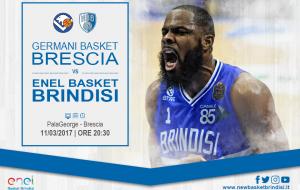 Stasera Brescia-Brindisi: tutti i canali per seguire in diretta la sfida del PalaGeorge