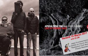 Diario di bordo, pag. n. 350: Live at Fasano Jazz, l'Apocalypse Trio in diretta per Radiazioni Cult
