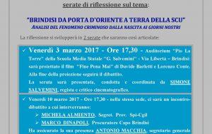 Film e dibattito per capire la trasformazione di Brindisi da porta d'Oriente a Terra della SCU