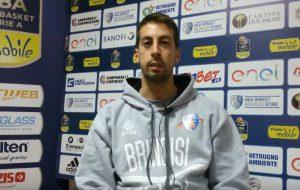Marco Esposito presenta Germani Brescia-Enel Brindisi
