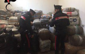 Maxisequestro di droga a Brindisi: foto e video