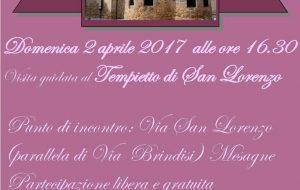 Domenica 2 a Mesagne visita guidata al Tempietto di San Lorenzo