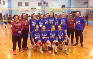 Il Mesagne Volley fa triplete: dopo l'U18 e l'U16 anche l'Under 14 conquista il campionato provinciale