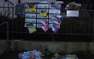 Il Sindaco emette ordinanza contro la distribuzione selvaggia di volantini e depliants pubblicitari