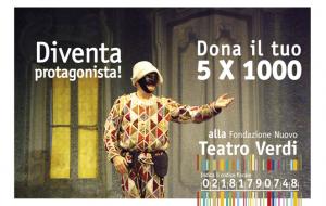 Il 5xmille alla Fondazione Nuovo Teatro Verdi