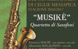 """Venerdì 21 secondo appuntamento con """"I concerti del Conservatorio"""" a Ceglie M.ca"""