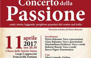 Mancano pochi giorni al Concerto della Passione a Francavilla Fontana