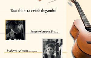 Rassegna di chitarra classica con archi e fiati: sabato 29 il duo Gargamelli-Del Ferro alla Chiesa del Cristo