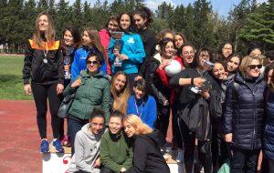 """Il """"Liceo Fermi-Monticelli"""" si afferma alle finali regionali di atletica leggera"""