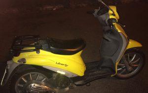 Rubato e abbandonato lo scooter dei postini: la Polizia mette alle strette il responsabile