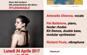 Antonella Chionna presenta il cd Rylesonable nella sede di AccordiAbili
