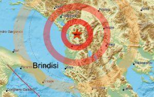 Forte terremoto colpisce il nord dell'Albania. Scossa avvertita a Brindisi e provincia