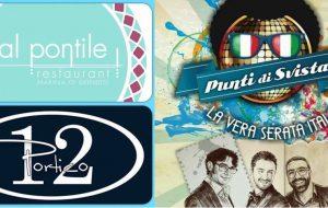 Al Pontile e Portico 12 presentano Punti di Svista live. Ospiti i giocatori dell'Enel Basket Brindisi