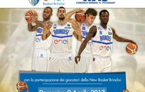 Giornata della solidarietà: domenica 9 l'Enel Basket al fianco dell'Avis Comunale di Brindisi