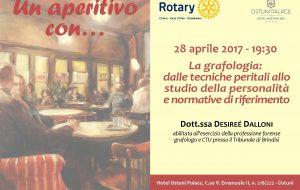 Rotary: domani aperitivo con Desireé Dalloni all'l'Hotel Ostuni Palace