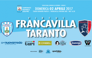 Virtus Francavilla-Taranto in diretta su Telenorba (Can. 10)