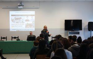 """Cultura di legalità economica: la GdF incontra gli studenti del commerciale """"Marconi-Flacco"""" di Brindisi"""