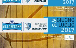 City e Village Camp: nascono i primi camp estivi organizzati dalla New Basket Brindisi
