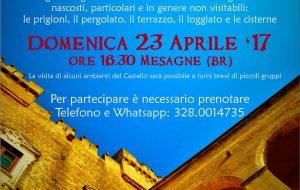 """Domenica 23 aprile a Mesagne torna l'appuntamento con """"Il Castello Segreto"""""""