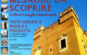 A pasqua e pasquetta visite guidate a Mesagne al Castello e al Museo