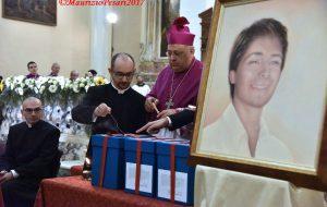 Venerdì la traslazione del corpo di Matteo Farina nel Duomo di Brindisi