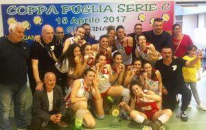 Il Mesagne Volley trionfa in Coppa Puglia