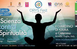 Orys Fest: a Cisternino la kermesse delle scienze olistiche
