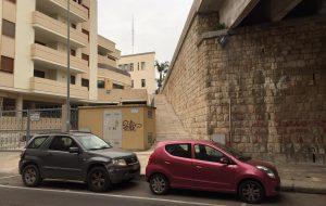 Dopo diversi anni apre al pubblico la nuova scalinata che collega Via Bastioni Carlo V al Cavalcavia De Gasperi