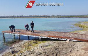 Sequestrato il pontile di Torre Guaceto: realizzato in difformità dell'autorizzazione paesaggistica