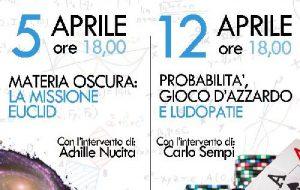 """Settimana della scienza: al Ribezzo """"Probabilità, gioco d'azzardo e ludopatie"""" con il prof. Carlo Sempi e la dott.ssa Caforio"""
