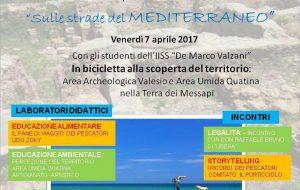 Sulle strade del Mediterraneo: studenti in bici da San Pietro Vernotico a Valesio e Torre San Gennaro