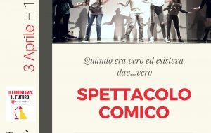 Lunedì 3 spettacolo della Scuola Talìa in collaborazione con Save The Children Italia