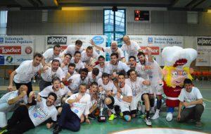 Finale scudetto, la Junior Fasano perde anche in trasferta: Bolzano è campione d'Italia