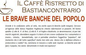 Il Caffè ristretto di Bastiancontrario