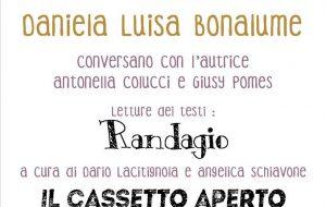 Venerdì 26 Daniela Luisa Bonalume al Laboratorio Jan-net di Cisternino