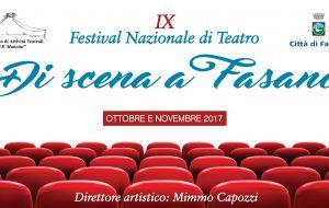 """Festival nazionale di teatro amatoriale """"Di scena a Fasano"""": iscrizioni entro il 7 Luglio"""