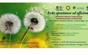 Il Club Unesco organizza convegno sulle erbe spontanee ed officinali