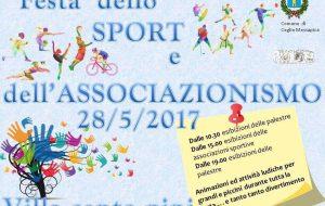"""Domenica 28 ritorna la """"Festa dello Sport e dell'Associazionismo"""""""