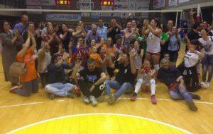 Il Mesagne Volley promosso in B2